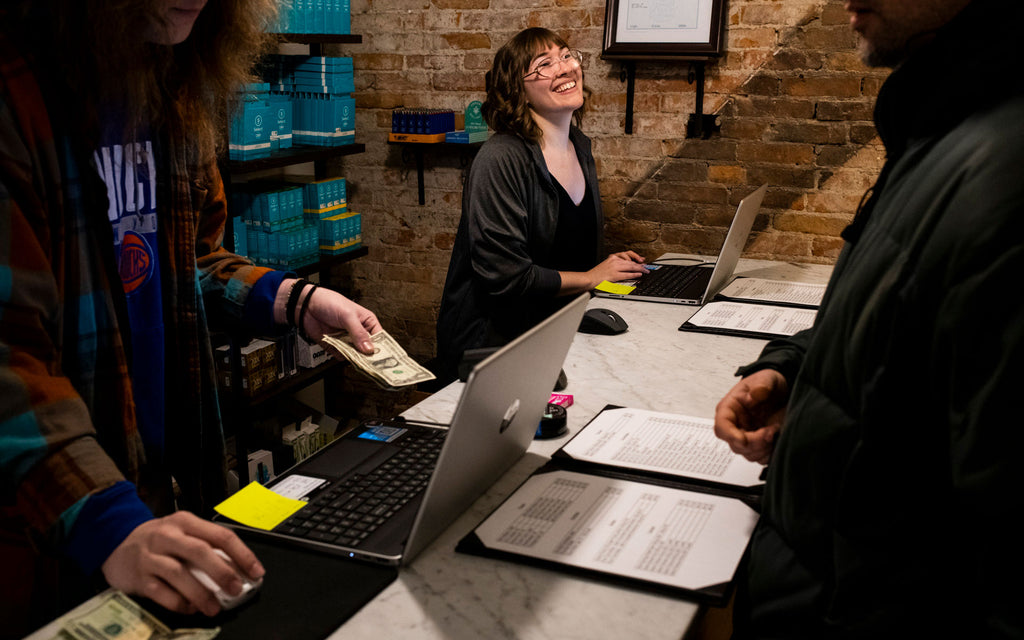 Michigan celebrates first legal cannabis purchases