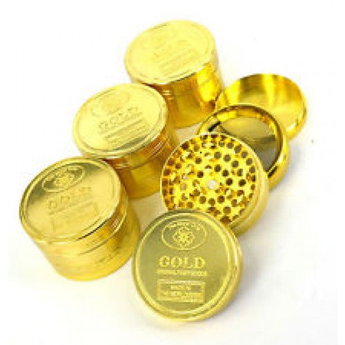 Happy Leaves Gold Grinder. - Happy Leaves