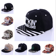 Fuckin Problems Baseball Cap - Happy Leaves