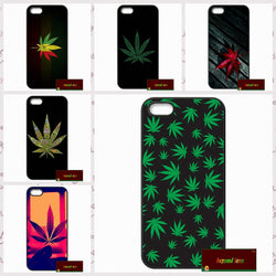 Leaf Cover case for iphone 4 4s 5 5s 5c 6 6s plus samsung galaxy S3 S4 mini S5 S6 Note 2 3 4   F063 - Happy Leaves