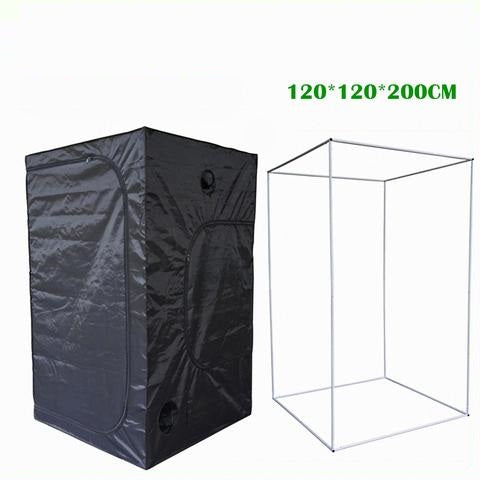 120*120*200 New Hydroponics Plants Grow Tent Mini Greenhouse Dark Room Complete Grow Tent System Garden Greenhouse