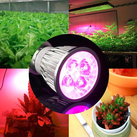 2017 NEW full spectrum LED Grow light 5W E27 LED Grow lamp bulb for Flower plant Hydroponics system AC 85V- 265V grow box