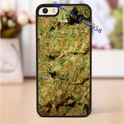 Weed case for iphone 4 4s 5 5s SE 5c 6 6 plus 6s 6s plus 7 7 plus - Happy Leaves