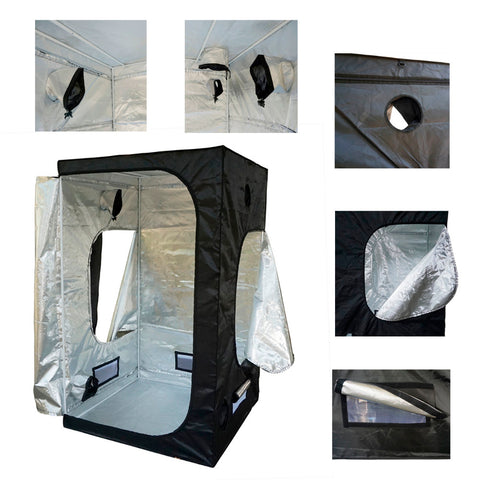... 120*120*200 New Hydroponics Plants Grow Tent Mini Greenhouse Dark Room Complete Grow ...  sc 1 st  Happy Leaves : complete grow tents - memphite.com