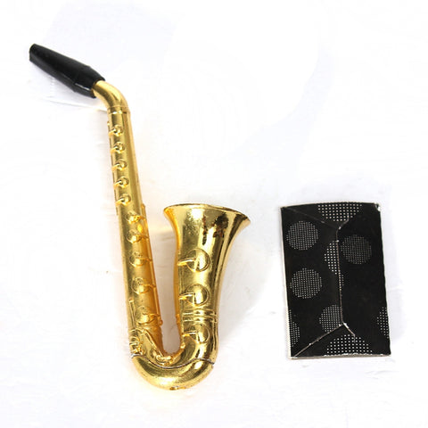 Mini Sax Pipe with Mesh Filters