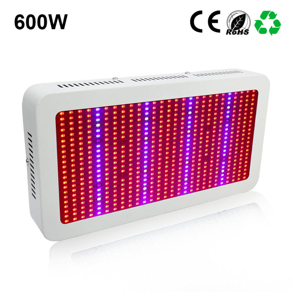 LED Grow Light 600W Plant Grow Lights / Growing Box for Indoor Tent Aquarium Plants and Hydroponic Full Spectrum Growing Lamps