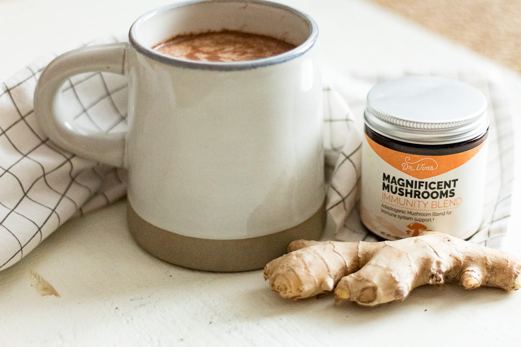 Dr. Vim's Anti-Flu Cinnamon & Ginger Milk