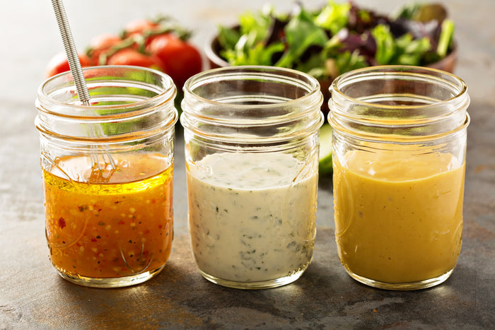6 Healthier Salad Dressing Options with Added Superfoods