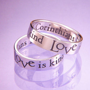Sterling Silver & 14k Gold Rings Made in the USA Available at Clothed with Truth