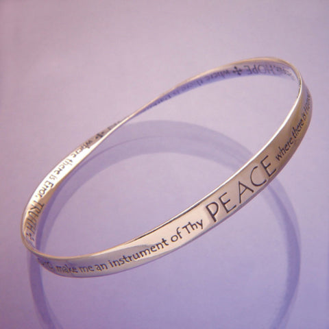 Lord Make Me An Instrument of Thy Peace Bracelet