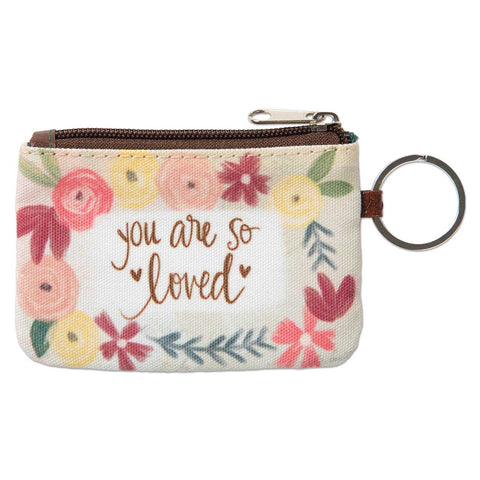 You Are So Loved ID Keyring