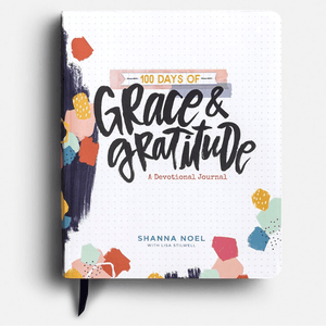 100 Days of Grace & Gratitude Guided Christian Devotional Journal | Shanna Noel