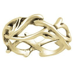 14k Gold Ladies Christian Ring | Crown of Thorns