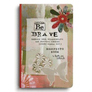 Be Brave Manifesto Magnet Gift Book | Kelly Rae Roberts