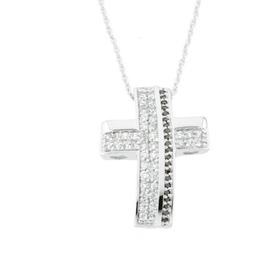 Sterling silver cz cross necklace beauty from ashes clothed with sterling silver cz cross necklace beauty from ashes mozeypictures Choice Image