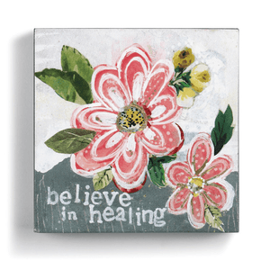 Believe in Healing Canvas Wall Art | Kelly Rae Roberts