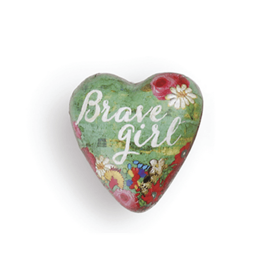 Art Heart Pocket Token | Brave Girl