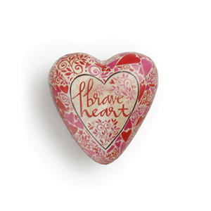 Art Heart Pocket Token | Brave Heart