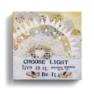 Choose Light Canvas Wall Art | Kelly Rae Roberts