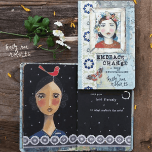 Embrace Change Gift Book | Kelly Rae Roberts