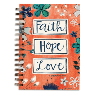 Christian Gratitude Journal | Faith Hope Love | 1 Corinthians 13:13