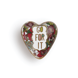 Art Heart Pocket Token | Go For It