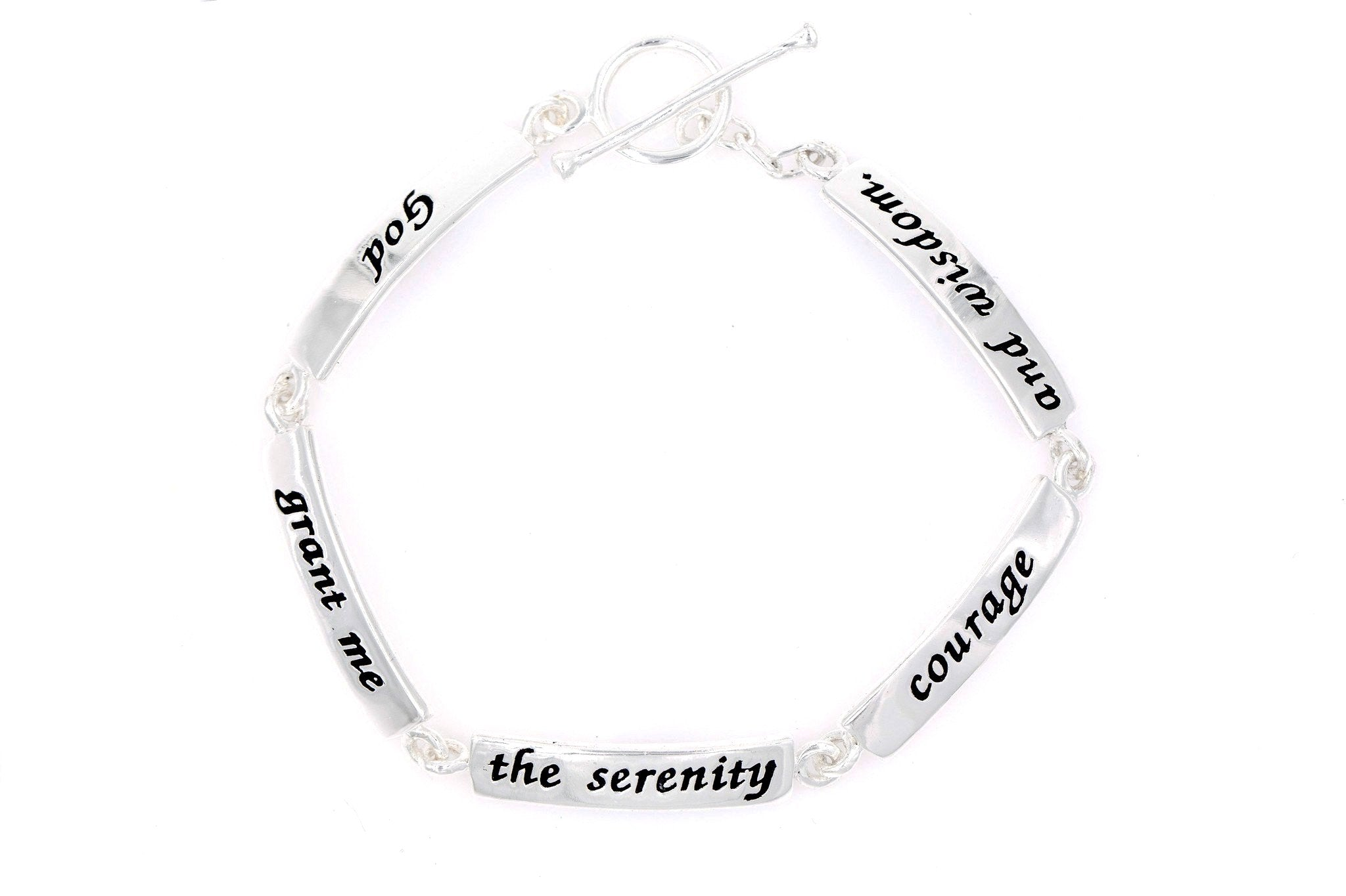 in jewelry stainless cfm prayer tag products dog at palmbeach necklace serenity detail steel