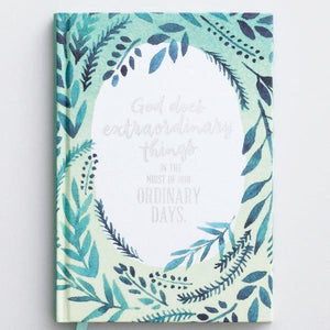 God Does Extraordinary Things Christian Devotional Journal