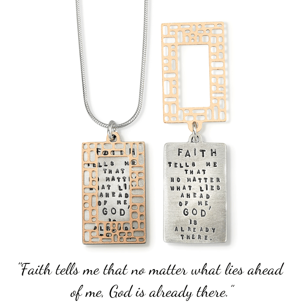God is Already There Sterling Silver Necklace | Kathy Bransfield