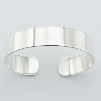 Sterling Silver Cuff  Bracelet for Personalized Hand Engraving