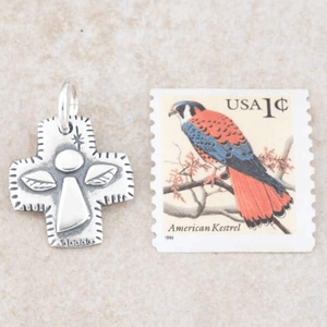 Sterling Silver Guardian Angel Pendant Necklace | Psalm 91:11