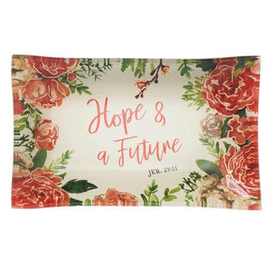 Jewelry Trinket Dish | Hope & a Future | Jeremiah 29:11