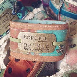 Hopeful Spirit Cuff Bracelet | Kelly Rae Roberts