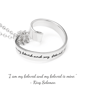 I Am My Beloved's Sterling Silver Necklace | Song of Songs | BB Becker