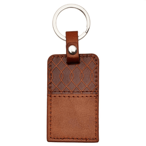 Jeremiah 29:11 Brown Leather Keychain | For I Know the Plans I Have For You