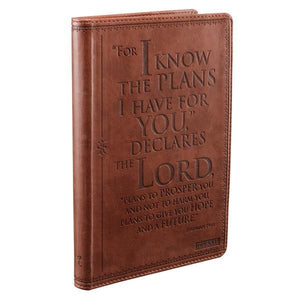 Jeremiah 29:11 Gratitude Journal | For I Know The Plans I Have For You | LuxLeather