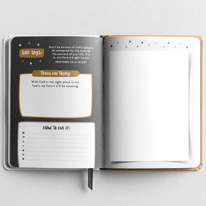 Bible Promise Christian Devotional Journal | Just Think