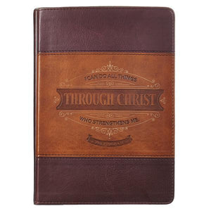 Philippians 4:13 All Things Through Christ Journal