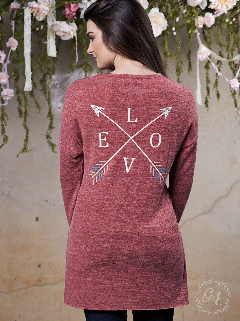 Love Will Find A Way Long Sleeve Christian Tee | Southern Grace