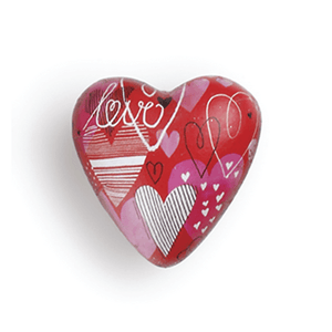 Art Heart Pocket Token | Love