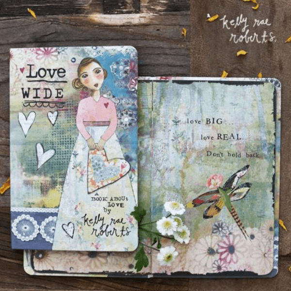 Love Wide Gift Book | Kelly Rae Roberts