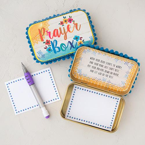 Prayer Box | Sunshine & Saltwater | Natural Life