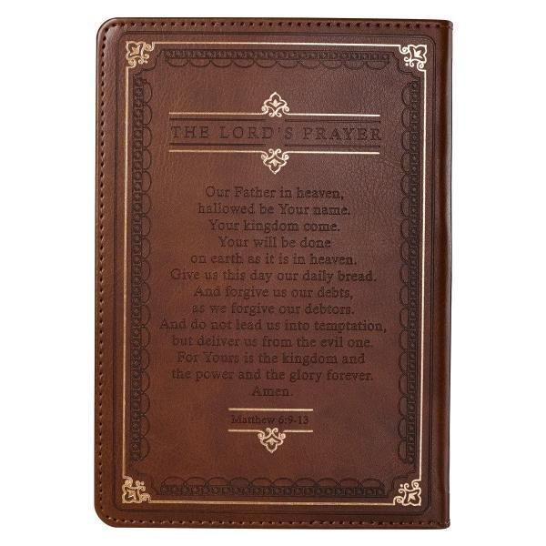 Brown LuxLeather Prayer Journal