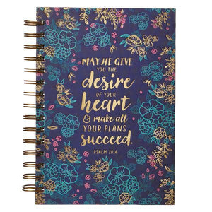 Desire of Your Heart Psalm 20:4 Journal