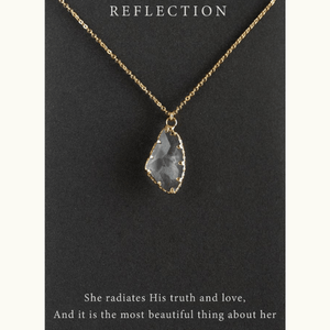 Reflection Pendant Necklace | Revival Collection
