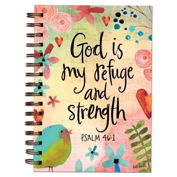 God is My Refuge and Strength Journal