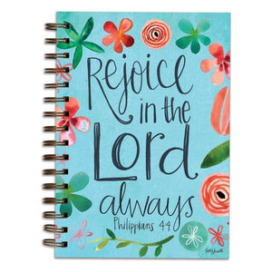Christian Gratitude Journal | Rejoice in the Lord Always | Philippians 4:4
