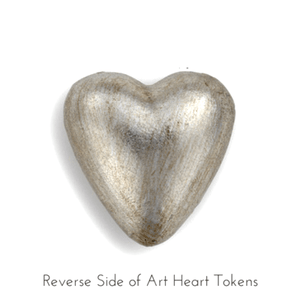 Art Heart Pocket Token | You Are My Sunshine Reverse