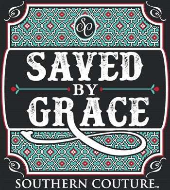 Southern Couture Christian T-Shirt | Saved By Grace