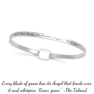 BB Becker Sterling Silver Bracelet | Bending Angel Whispers